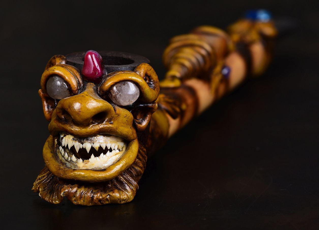 снимка на Лула с челюсти на пираня