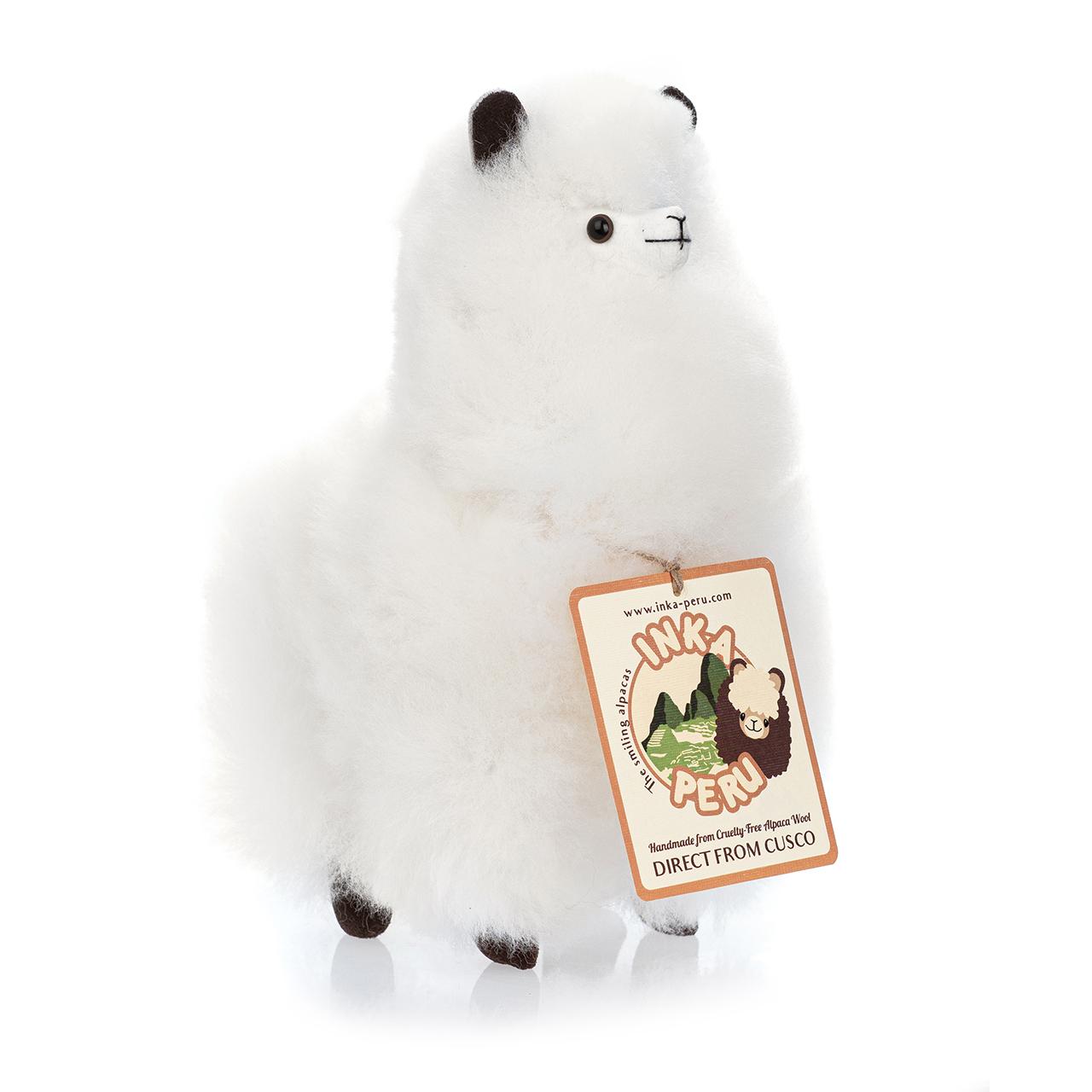 снимка на Усмихната алпака – голяма,  см, Снежна Кралица