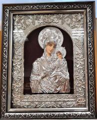 снимка на Икона Богородица със стъкло