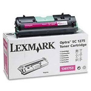 Тонер касета Lexmark 1361754 Yellow