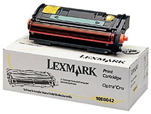 Тонер касета Lexmark 10E0041 Yellow