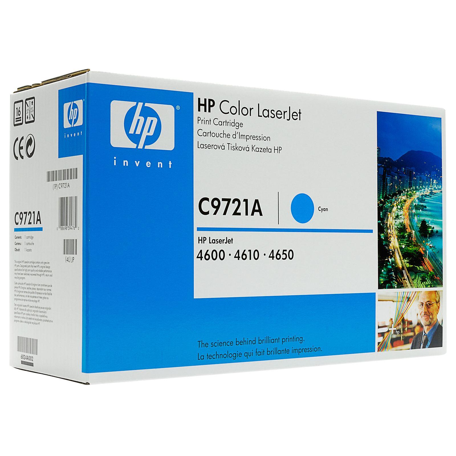 HP C9721A тонер касета cyan