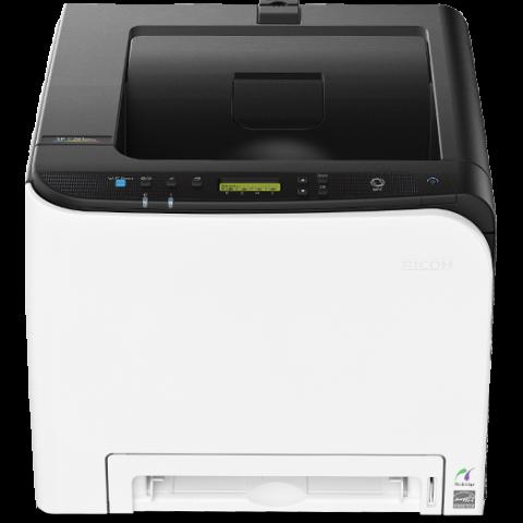 снимка на Цветен лазерен принтер Ricoh SP CDNw