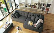 Удобен ъглов диван по поръчка 769