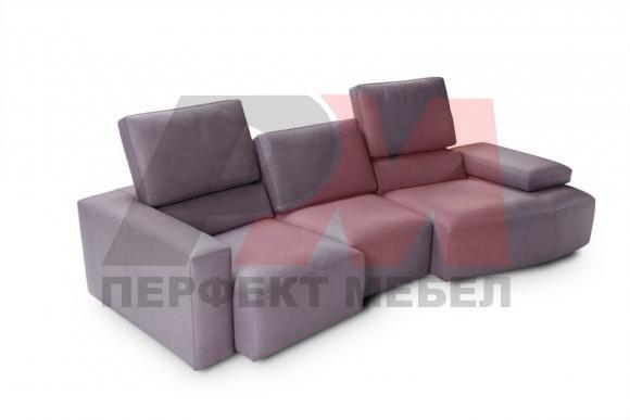 лукс права разтегателна мека мебел
