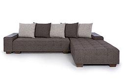 снимка на Ъглов диван за хол Корсика Лайт