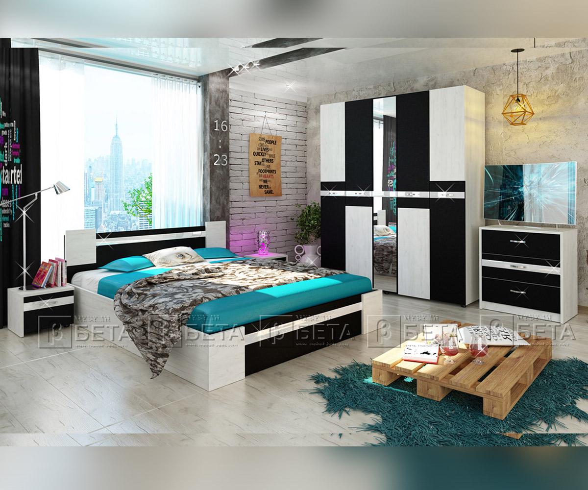 Спален комплект мебели Стило