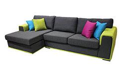 снимка на Ъглов диван с функция сън Денмарк
