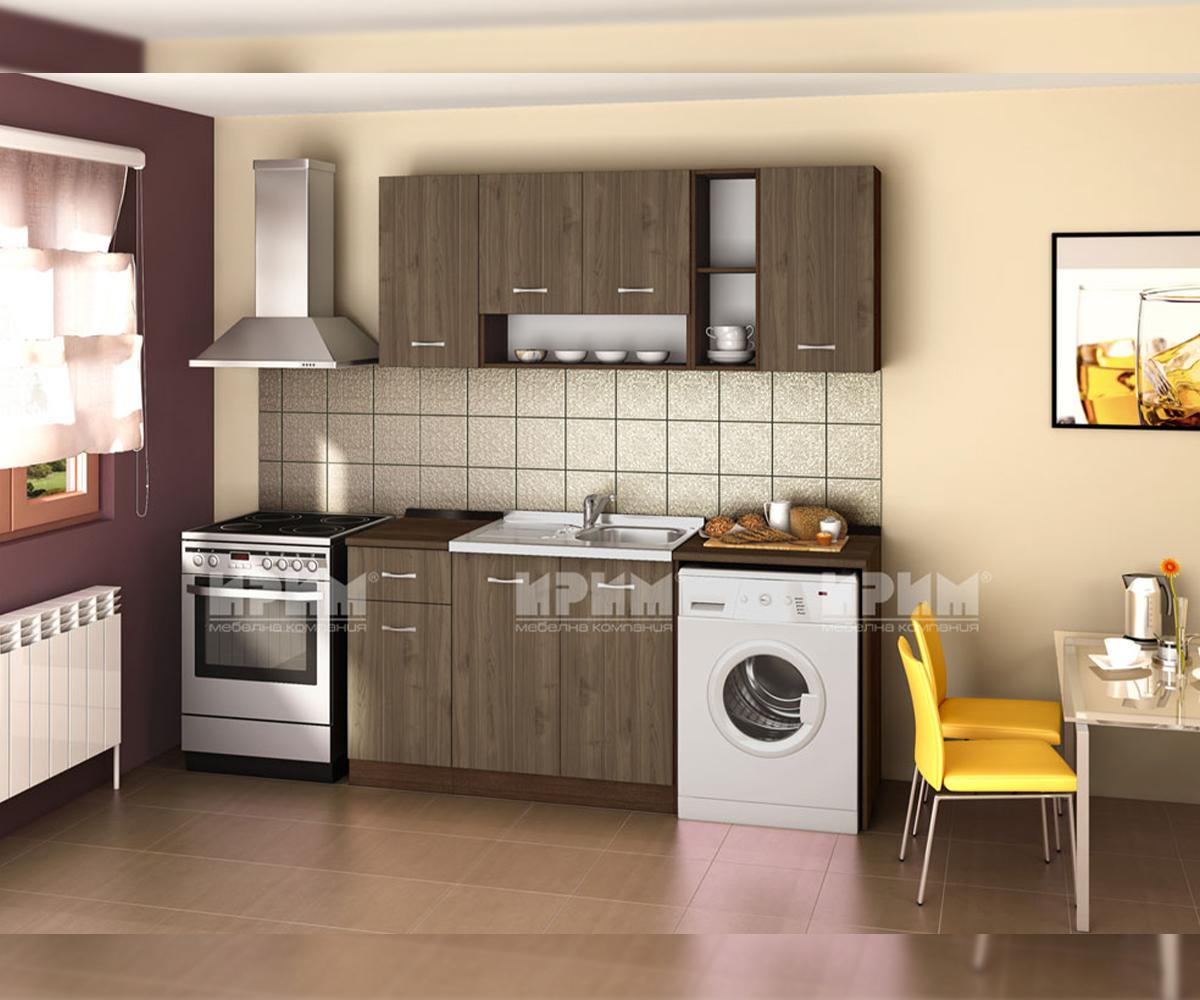 снимка на Права модулна кухня Сити
