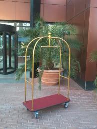 снимка на Пиколо количка за багаж в хотел