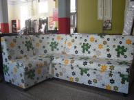 снимка на Ъглов кухненски диван