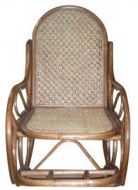 Люлеещ се ратанов стол INCROCIATO