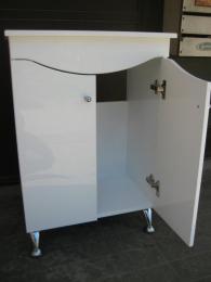 снимка на Водоустойчив шкаф за баня под мивка Видима