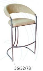 снимка на Бар стол с облегалка