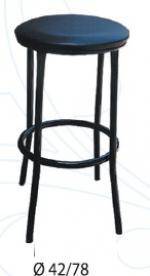 снимка на Кръгли бар столове