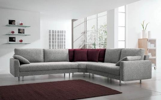 Елегантен ъглов диван