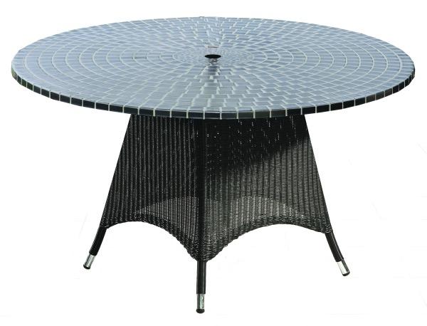 Кръгла маса от  ратан 172-2609
