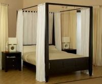 снимка на Спалня с балдахин по поръчка
