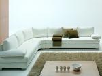 снимка на луксозен ъглов диван