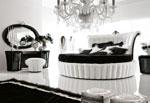 снимка на Тапицирана луксозна кръгла спалня по поръчка.
