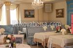 снимка на луксозни сепарета за ресторанти