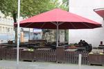 снимка на разнообразие от форми на специални чадъри по поръчка
