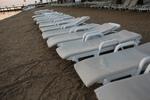 снимка на Едрови цени за пластмасови шезлонги  внос от Румъния