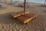 снимка на Букови дървени шезлонги поръчкова изработка