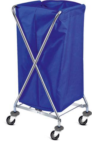 Компактна сгъваема камериерска количка за бельо