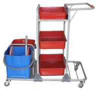 снимка на Професионална количка хигиенна