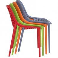 снимка на Цветен здрав и удобен стол