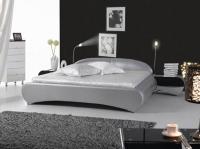 снимка на Спалня в нестандартна форма