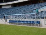 снимка на поликарбонатна резервна скамейка