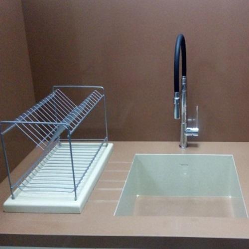 снимка на Аксесоар за кухня от технически камък ABSOLUT BLANC