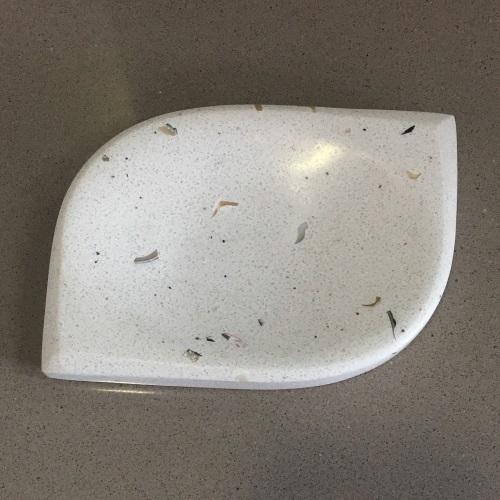 снимка на Аксесоар за баня от технически камък FIDJI