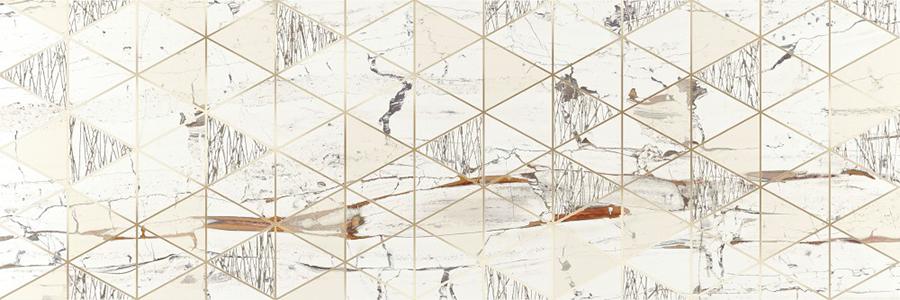 снимка на Декор плочка за баня LEONARDO LIONELA WHITE BRILLO x
