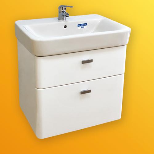 снимка на Мебел за баня – долен шкаф Сенсо Скуаре