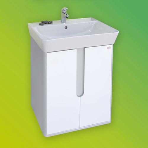 снимка на Мебел за баня – долен шкаф Бали с две врати