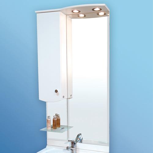 Мебел за баня –  горен огледален шкаф Орион