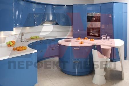 мдф мат обли кухни с плот технически камък
